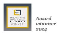 Theo Paphitas small business award winner 2014