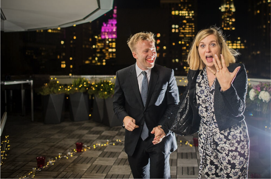 Marriage Proposal in Sofitel New York planned by proposal experts The Proposers
