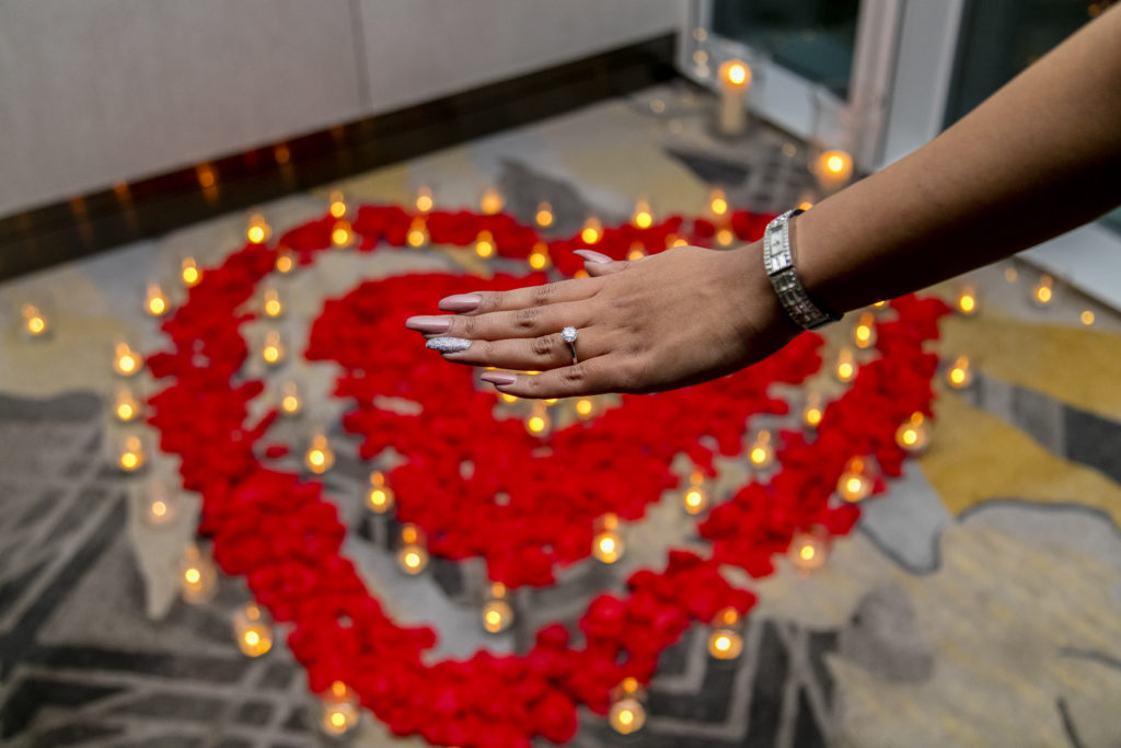 Marriage Proposal in The Shard planned by proposal experts The Proposers