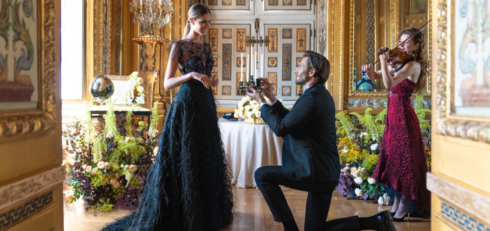 Dream Proposal At Chateau Vaux-le-Vicomte In France