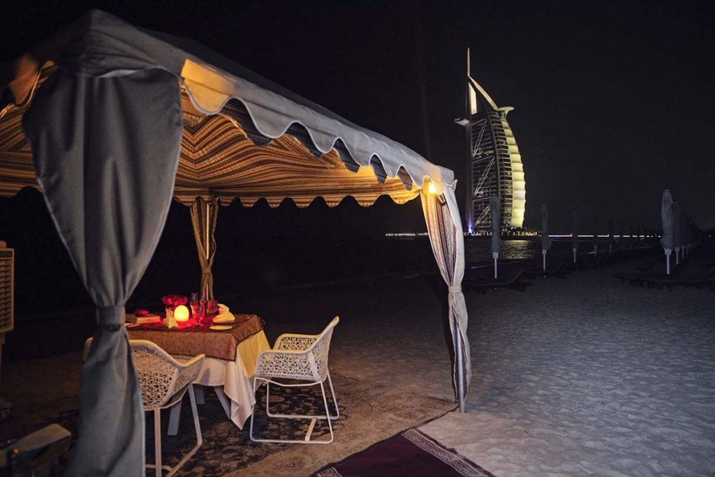 Proposing in Dubai