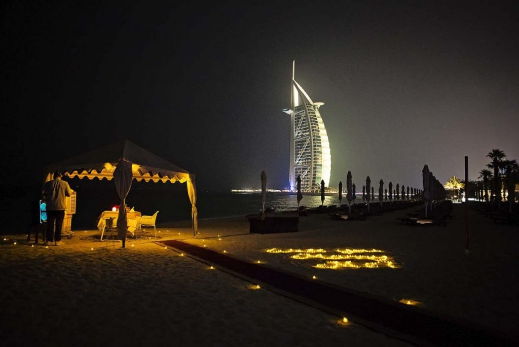 Proposal in Dubai