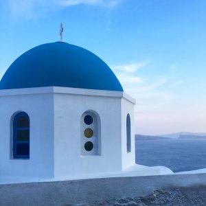 Propose in Santorini