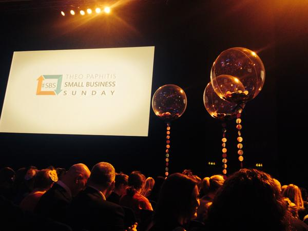 The Proposers meet Theo Paphitis at SBS 2015