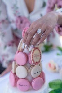 Macarons in Paris | Eiffel Tower Proposal