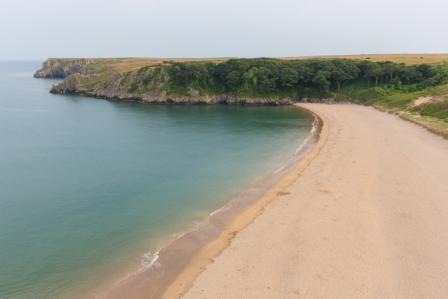 A Secluded Beach Proposal