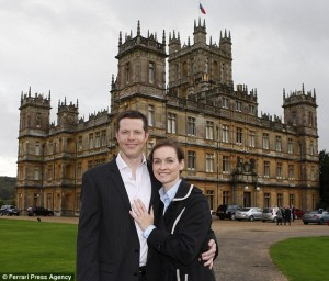How to propose to a Downton Abbey fan