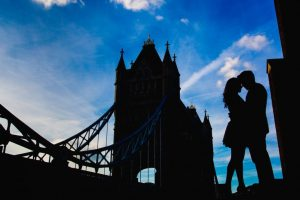 Engagement shoot in London 1