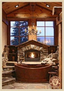 Fireplace&Hot Tub