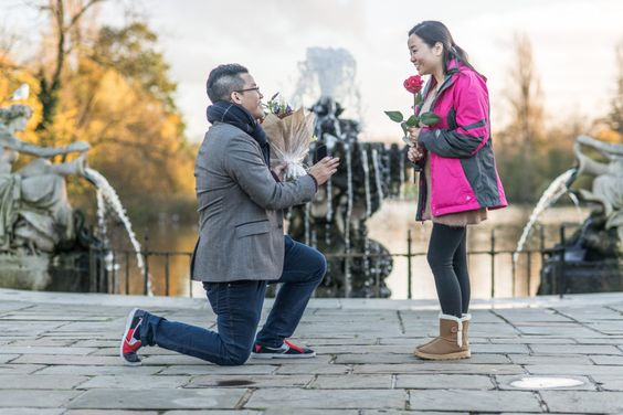 Helping Couples from China pick the Perfect Proposal Location in London