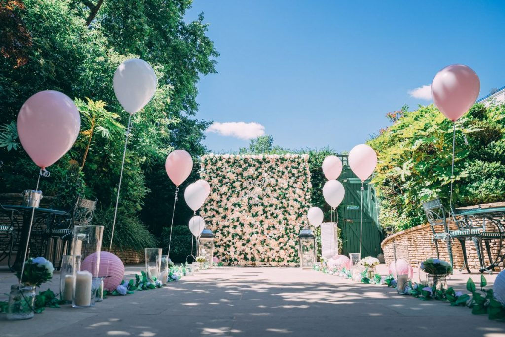 Secret Garden Proposal at The Ritz Hotel