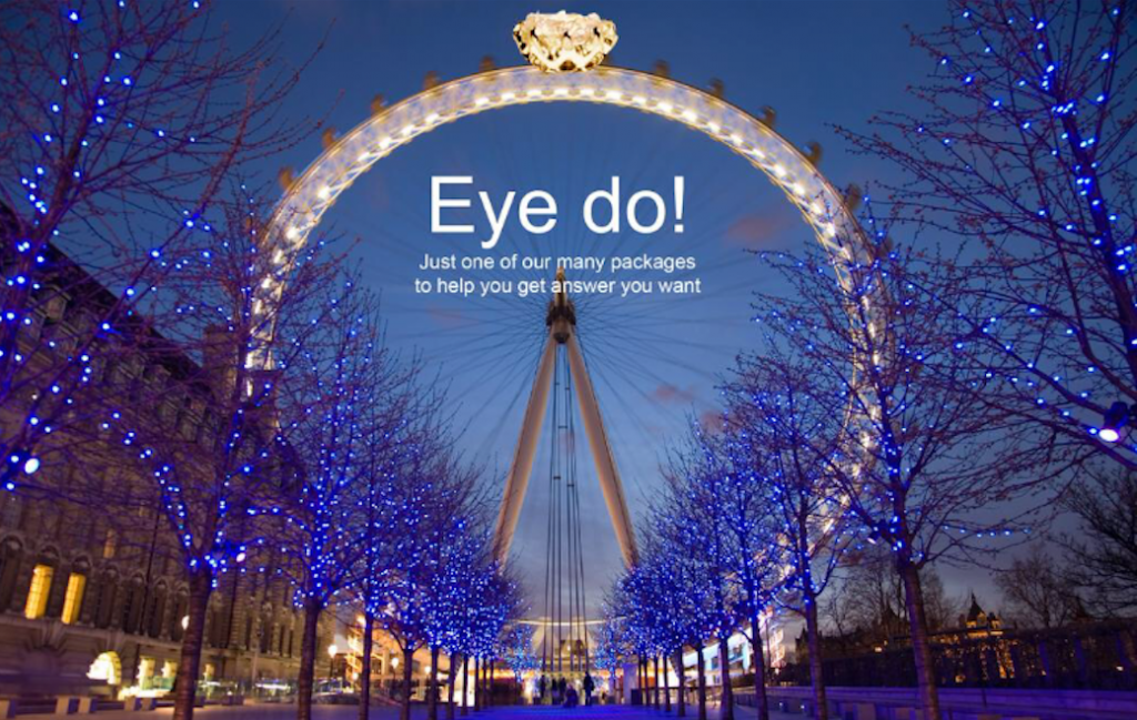 We love creating proposals on the London Eye!
