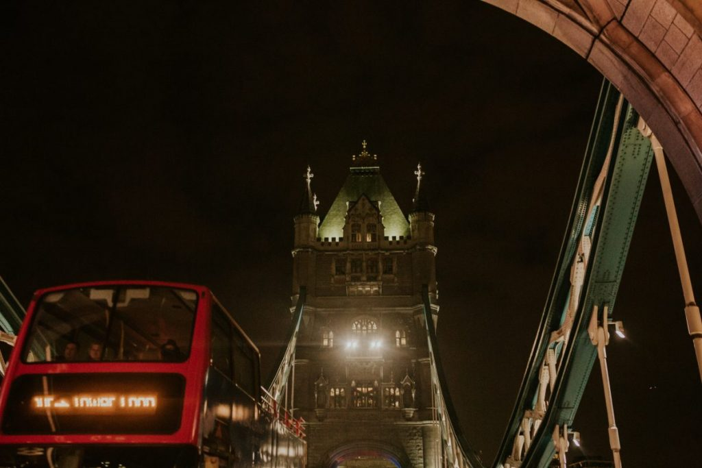 LOVE Proposal at Tower Bridge