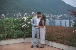 Stunning backdrop for a proposal