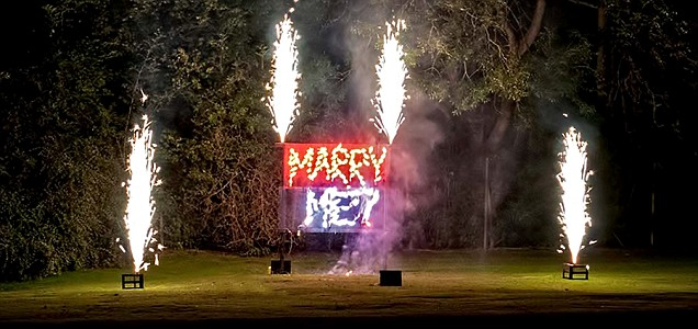 How to propose on Bonfire Night