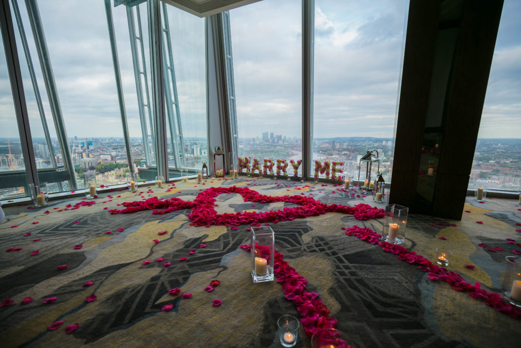 5 Reasons to Propose at The Shangri-la
