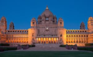 Umaid Bhawan Palace, Jodhupur, India.