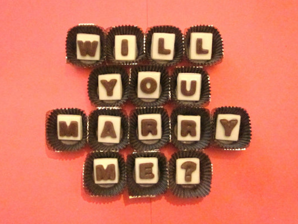 How to propose to a chocoholic