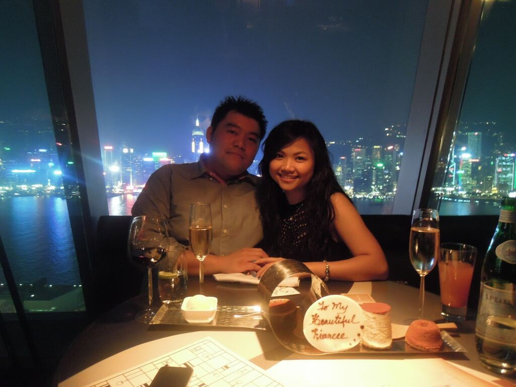 This is one of the best restaurants with the most amazing view in Victoria Harbour, Hong Kong!