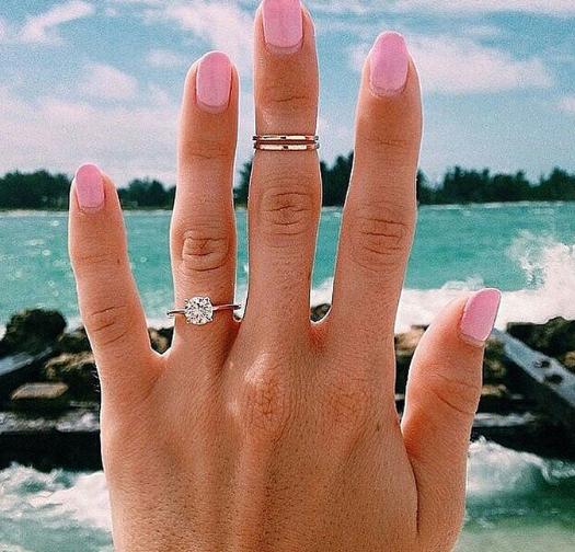 Love the nail colour!