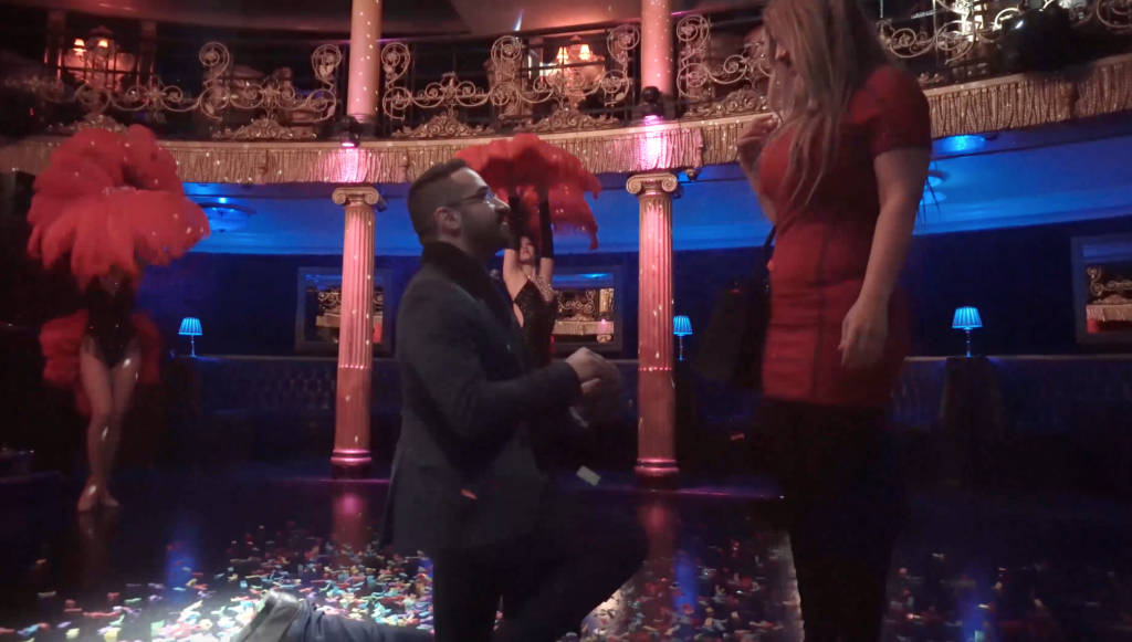 Moulin Rouge Proposal