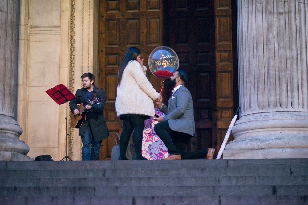 Raju & Simmy - Balloon Proposal