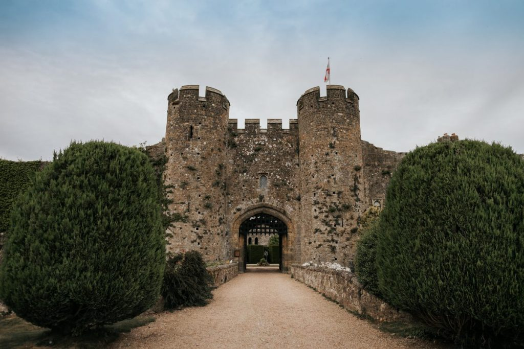Proposing at Amberley Castle