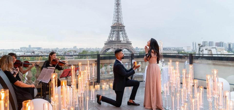 Terrace Proposal in Paris - The Shangri-La Hotel
