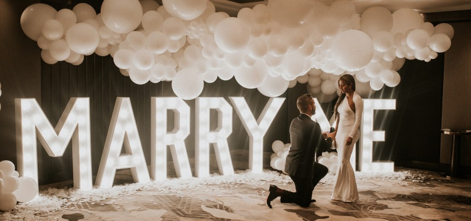 Proposal In The Clouds