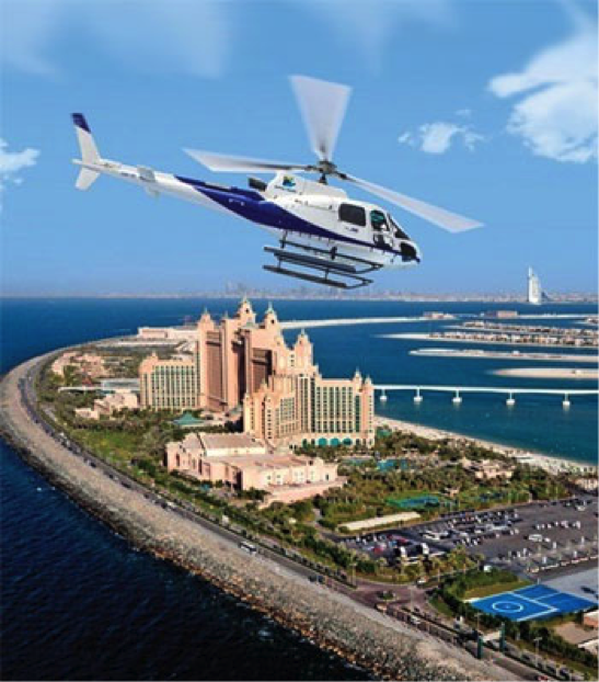 Proposing in Dubai A Helicopter Proposal