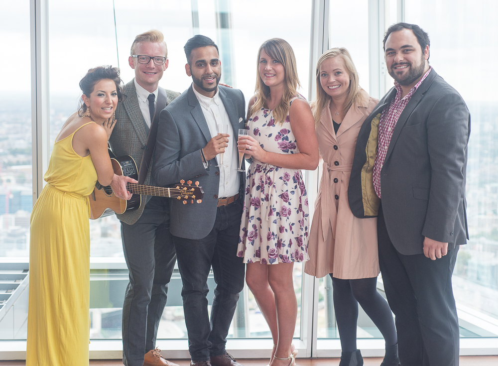 A Singing Serenade at The View from The Shard