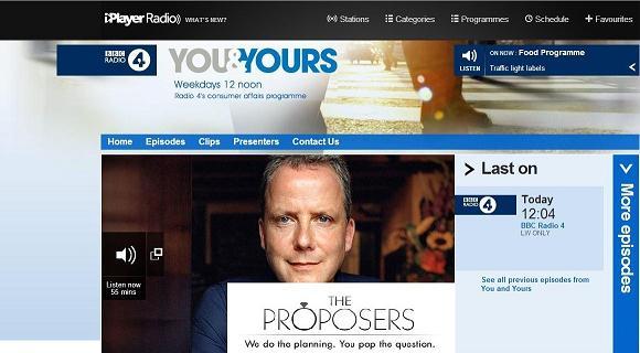 The Proposers on BBC Radio 4