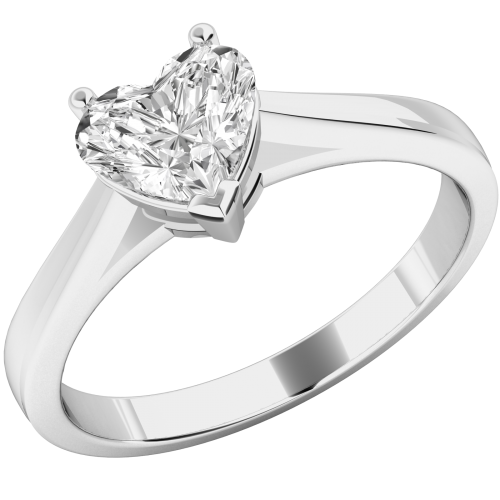 The Low Down on Diamonds: Heart shaped