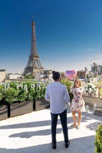 Surprise proposal in Paris | Eiffel Tower Proposal