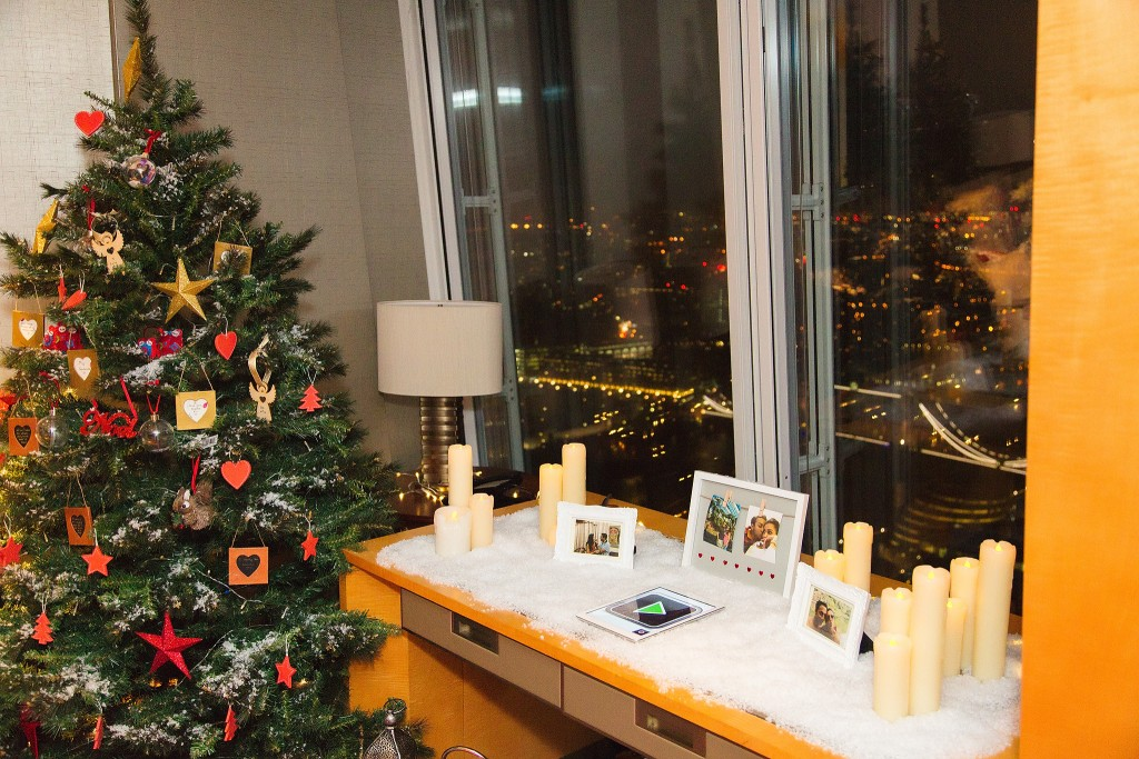 Proposing in The Shangri La Hotel and The Shard