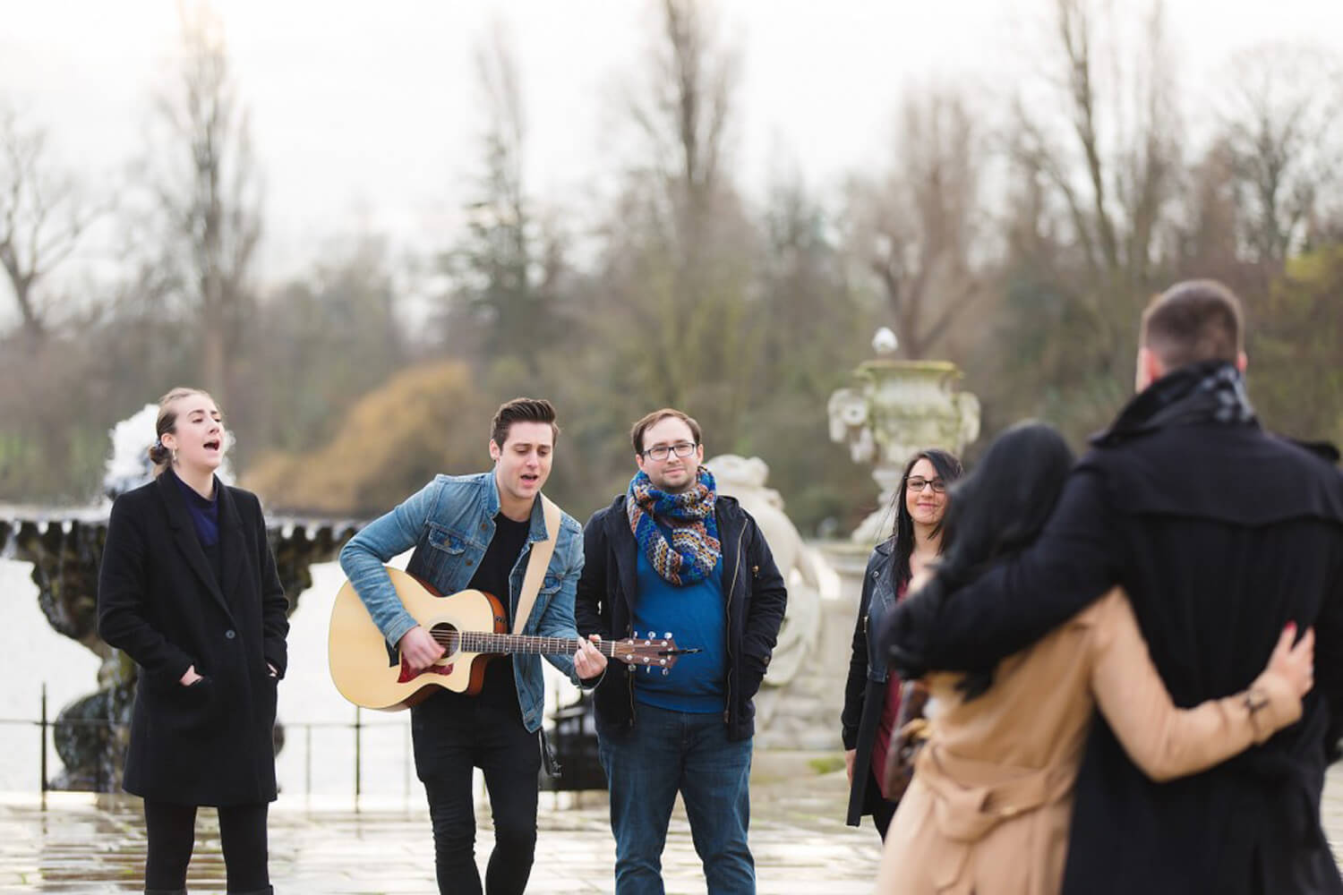 Italian Gardens | The Best Outdoor Winter Proposal Ideas In London