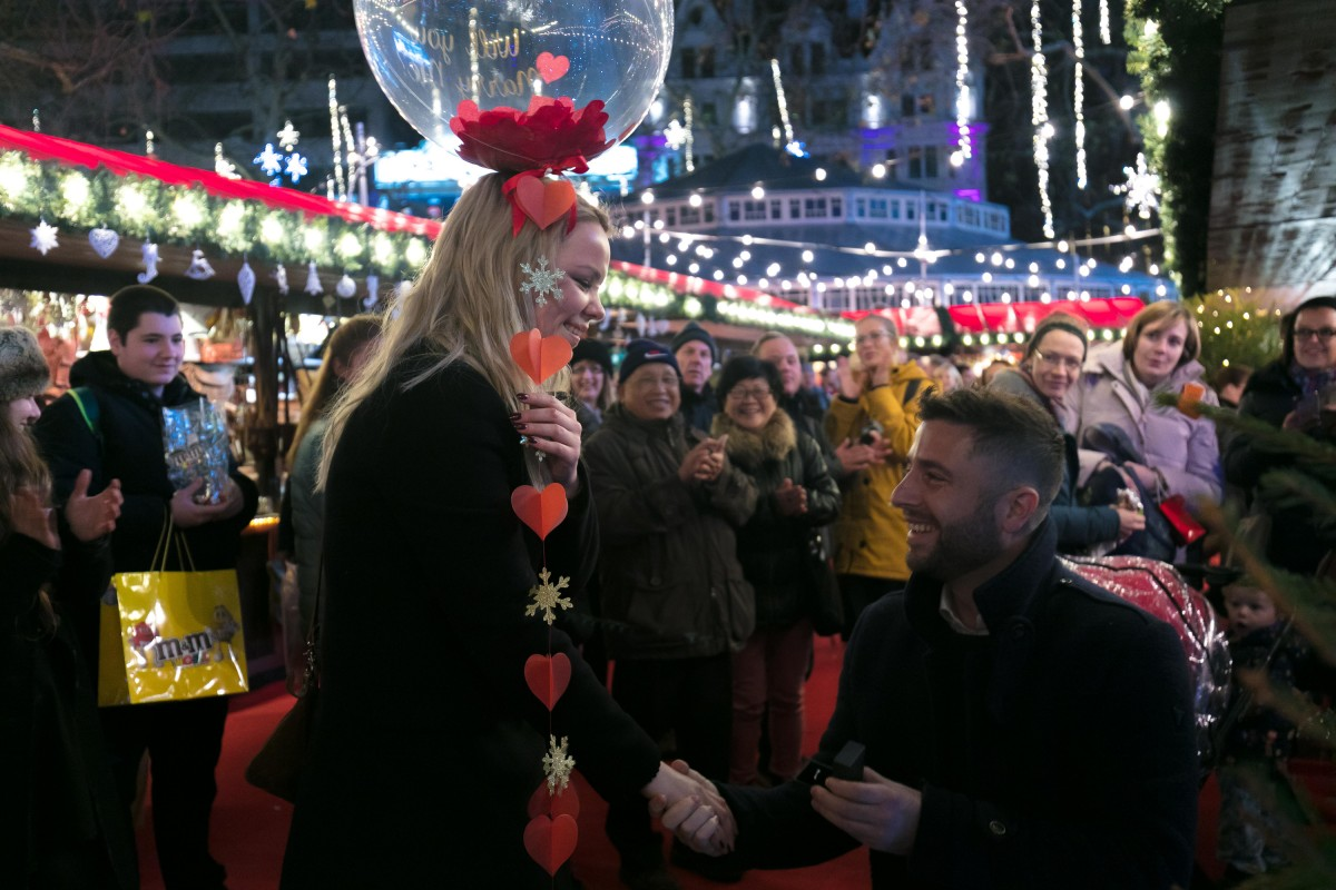 Winter Wonderland Proposal - The Most Romantic Christmas Proposal Ideas