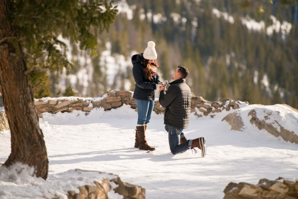 Snow Proposal - Christmas Proposal Ideas