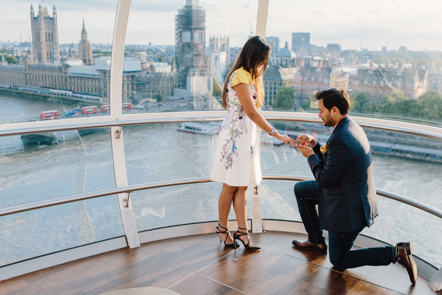 Proposing on the London Eye