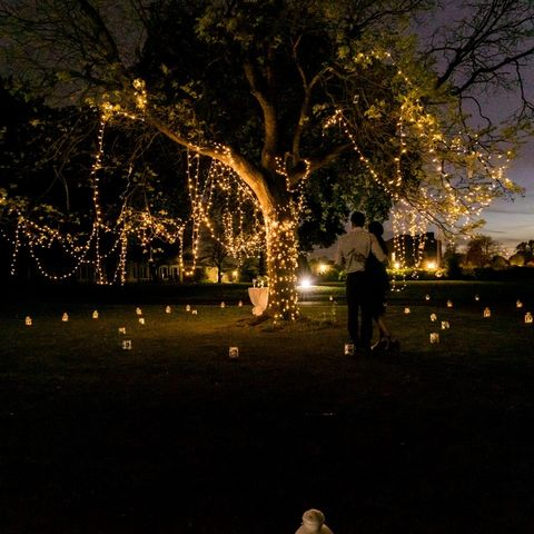 Never underestimate fairy lights! 😍✨  It's not too late to book your outdoor proposal with us this summer! Contact info@theproposers.co.uk for more information. ♥️
