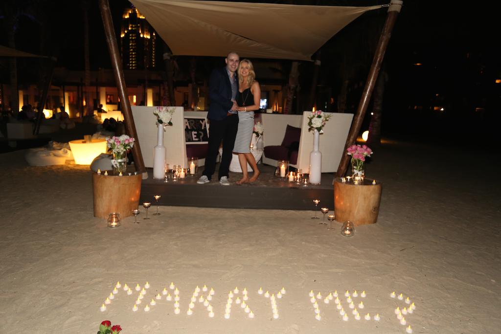 Derek & Sarah - Our first ever Dubai Proposal
