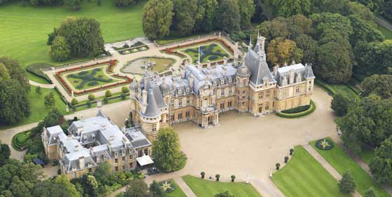 Waddesdon Manor recommended proposal planners