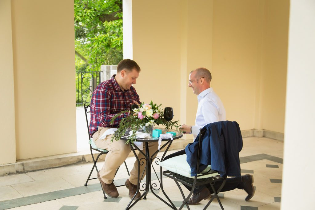 Gay marriage proposal at Hampstead Heath Pergola planned by The Proposers
