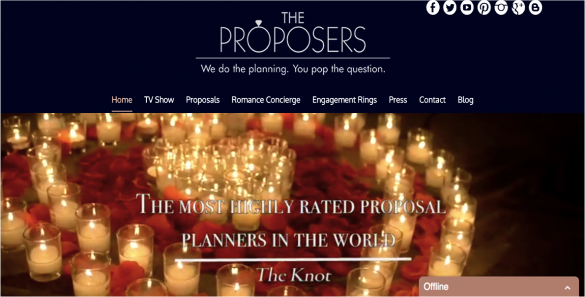 The Proposers website