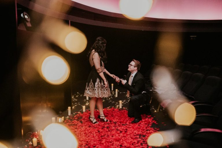 The Most Romantic Proposal at The Shangri-La in The Shard!